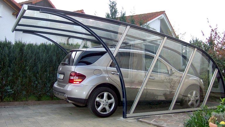 Garage transparent VÖROKA Serie I