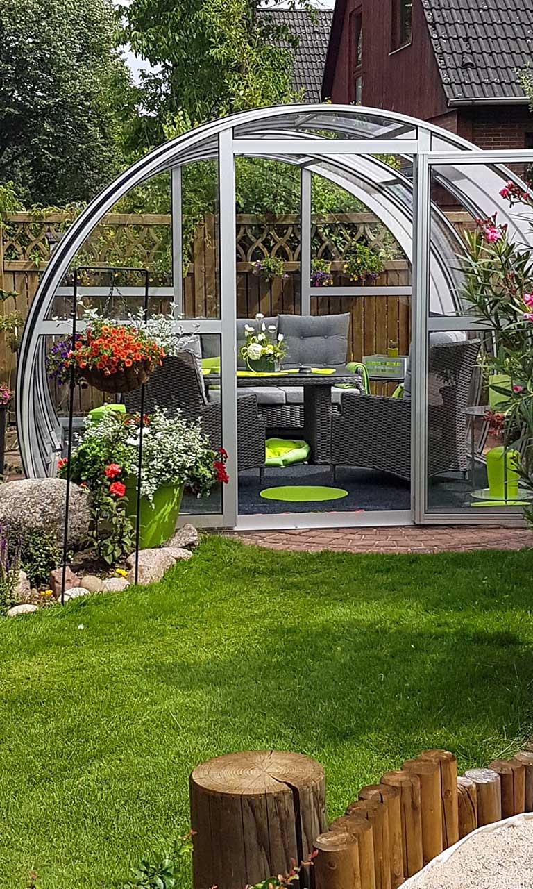 Garten-Überdachungen Made in Germany von VÖROKA