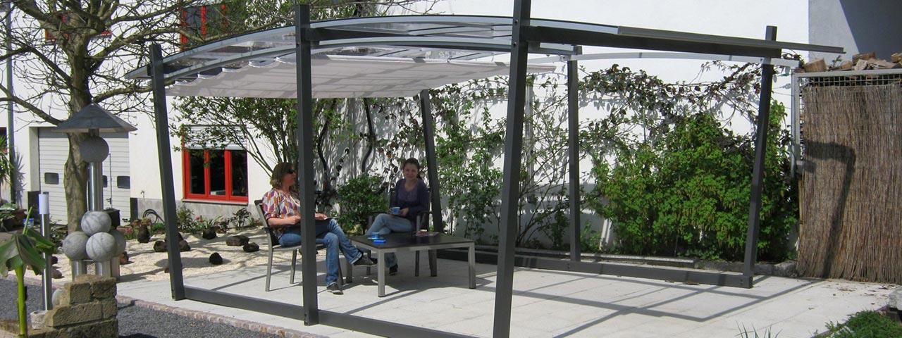 Garten-Überdachung / Garten-Dach VÖROKA SAKURA