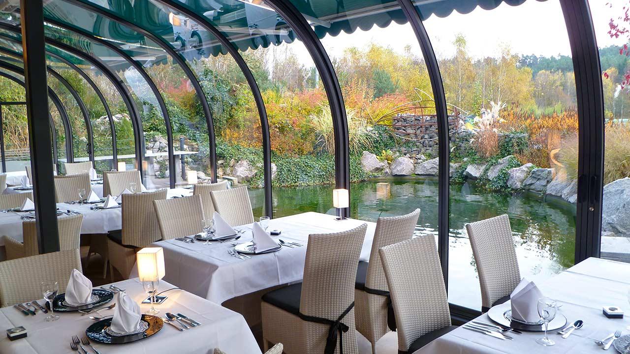 Terrassen-Überdachungen für Restaurants & Gastronomie VÖROKA