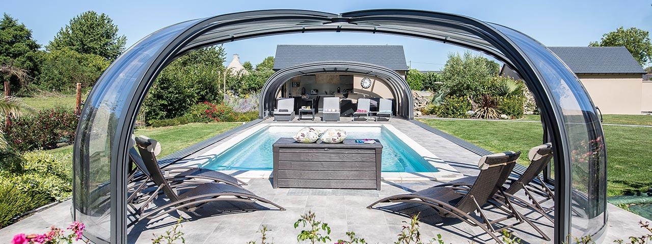 Überdachungen für Pools / Terrassen / Garten