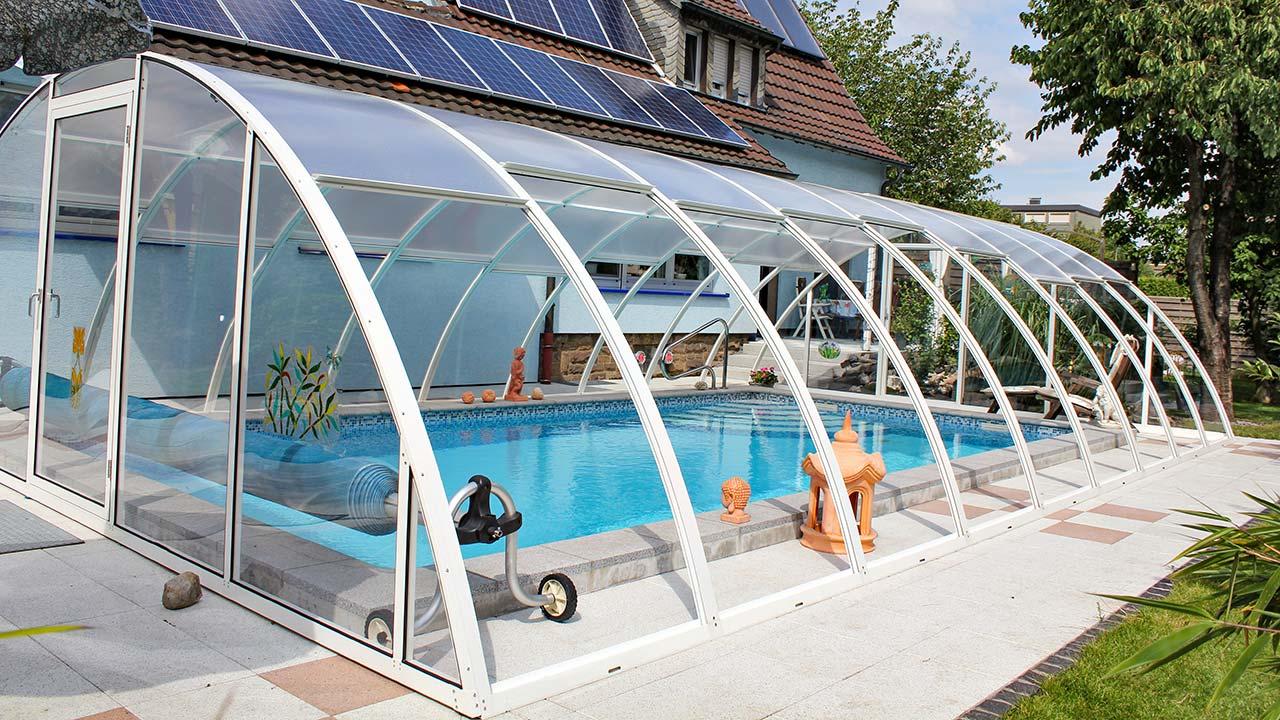 Pool enclosure fixed & high VÖROKA VARIO