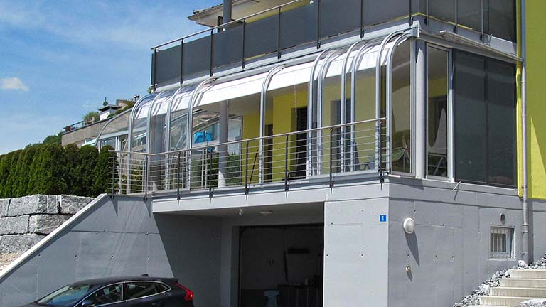 Überdachung für Balkon / Terrasse VÖROKA LOGGIA