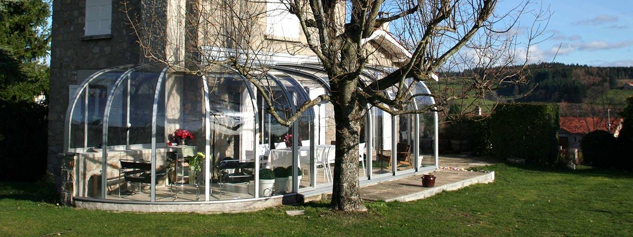 Wintergarten Alternative zum Öffnen VÖROKA SAPHIR