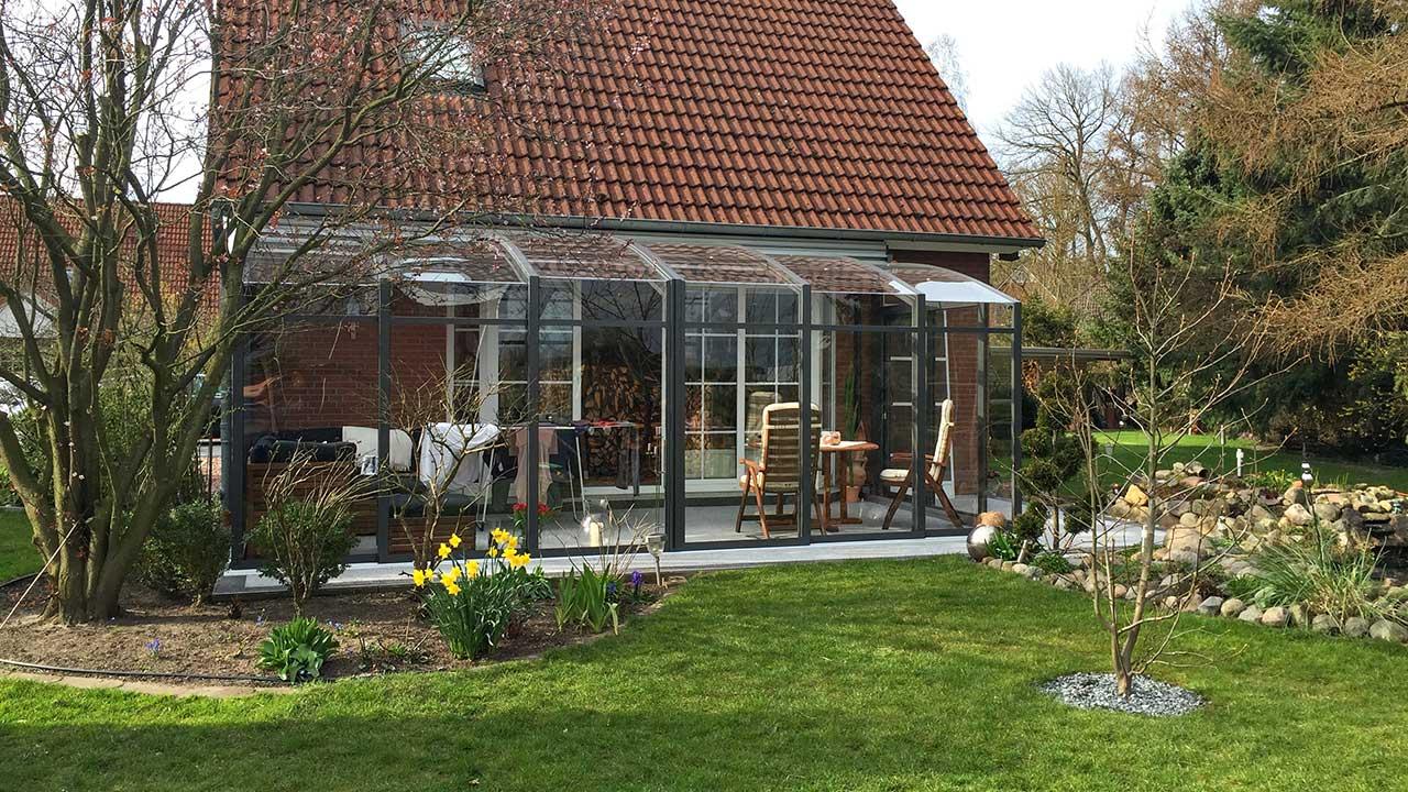 Terrassen-Dach / Cabrio-Wintergarten VÖROKA TOPAS